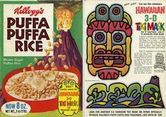 Puffa Puffa Rice Vintage Tiki Cereal -- Tiki Central
