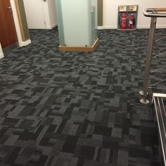 Carpet tiling at thorntons Dundee