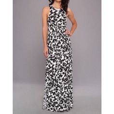 """Shop Women's Rachel Pally Black White size XS Maxi at a discounted price at Poshmark. Description: Rachel Pally style has been distinguished by her ability to blend the easy & elegant with the chic & classic. Known as Los Angeles 'jersey girl,' she has become a favorite amongst Hollywood elite like Angelina Jolie, Sarah Jessica Parker, Rachel Bilson, & more.   *PLEASE NOTE THE STOCK PHOTO IS ONLY FOR REFERENCE, ITS NOT THE SAME STYLE AS DRESS FOR SALE.  * 54"""" long..."""
