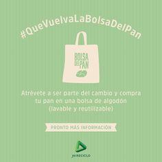 ¿Te atreves a cambiar la forma en que compras el pan? #QueVuelvaLaBolsadelPan