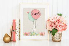 nursery printable art by leela girl