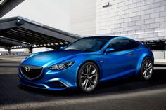 Mazda 6 Coupe rendering