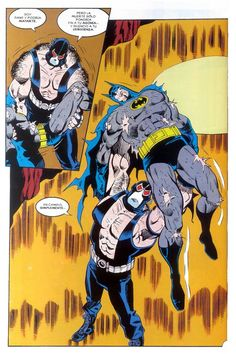 Batman bane knightfall