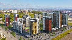 Жилой комплекс Квартал энтузиастов, ЖК Квартал энтузиастов Уфа, купить квартиру от застройщика