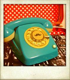 Colourful Vintage Phone