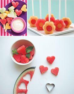 Frutas no palito