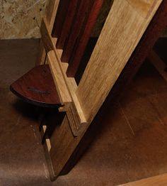 Good Notenst nder aus Eiche und Mahagoni h henverstellbar Holzprojekt