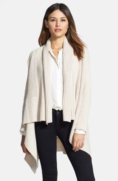 Nordstrom Collection Mixed Stitch Cashmere Blend Cardigan available at #Nordstrom