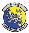 Sew-on OSS patch  Patrice Badges Perth   Ph.1300 782 255