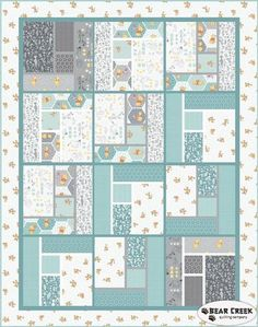 Winnie The Pooh Free Quilt Pattern by Camelot Fabrics