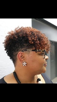 Short hair cut - All For Colors Hair Tapered Natural Hair Cut, Natural Hair Short Cuts, Black Natural Hair Care, Short Natural Haircuts, Funky Short Hair, Short Curly Hair, Short Hair Cuts, Curly Hair Styles, Designs Undercut