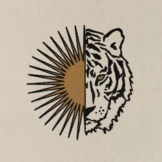 Mini Tattoos, Small Tattoos, Tiger Art, Photocollage, Aesthetic Art, Wall Collage, Art Inspo, Illustration Art, Canvas Art