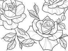 🤩 For a Written Review we Offer to you a BRUSH SET ! *offer limited to one product offered 8O Roses Tattoo Set // Brushes for Procreate In this Tattoo stencil brush set these are 50 brushes for PROCREATE application In few seconds you can create originals composition of roses in line work tattoo style. All brushes is original and created by the Tattoo Artist, Haris Jonson. This set includes: * 60 Roses Stamps * 20 Leafs Stamps * 2 Black line brushes * 1 Brushset (.brushset) * 1 instructions for Rose Outline Drawing, Rose Drawing Tattoo, Tattoo Shading, Flower Outline, Outline Drawings, Rose Outline Tattoo, Rose Drawings, Rose Tattoo Stencil, Rose Stencil