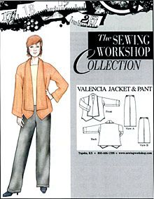 Birch Steet Clothing : Sewing Workshop Collection / Valencia Jacket and Pant