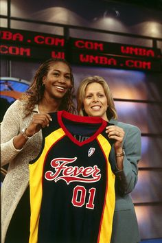 Drafted 3rd overall by the Indiana Fever in 2001 WNBA Draft