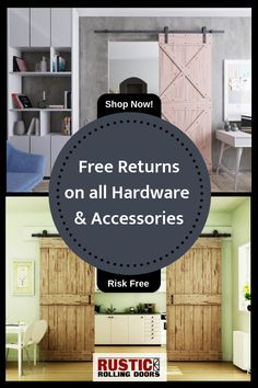 The leading online provider of finely crafted barn doors and barn door hardware. From rustic to modern, we have rolling doors and hardware for any room. Barn Door Hardware, Barn Doors, What's Your Style, Rolls, Rustic Kitchens, Ship, Modern, Stress, House