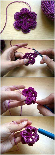 How to Crochet a Flo