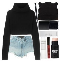 """""""Untitled #103"""" by blue-skies-mmiv ❤ liked on Polyvore featuring Alexander Wang, Topshop, Valentino, Korres, NARS Cosmetics and Bobbi Brown Cosmetics"""