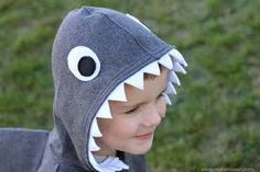 Image result for knit pattern jacket with fierce shark hood