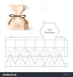 Box Template Images, Stock Photos & Vectors- Box Template Images, Stock Photos & Vectors Retail Box with Blueprint Template - Diy Gift Box, Diy Box, Diy Gifts, Gift Boxes, Scrapbooking Box, Scrapbook Paper, Paper Crafts Origami, Diy Paper, Paper Art