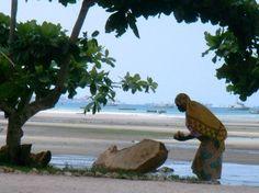 Mujer en Zanzibar