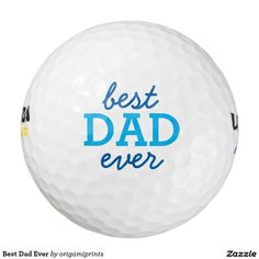 Best Dad Ever Pack Of Golf Balls