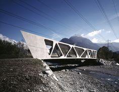 'alfenz bridge' by marte marte architects