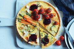 50 midweek meals under 500 calories Vegetable Tart, Vegetable Frittata, Pork Schnitzel, Roasted Root Vegetables, Dinner Bowls, Midweek Meals, Tart Recipes, Free Recipes, Recipe Sites