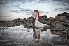 Fotografia de #boda en la #playa de #Grancanaria por www.xpressioninternational.com @xpression_int #bodas #novias #fotografosboda