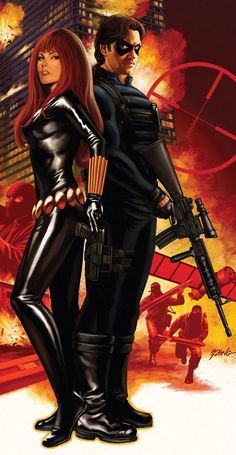 Bucky & Natasha!