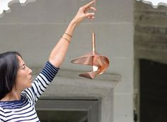 Covered Copper Bird Feeder — ACCESSORIES -- Better Living Through Design