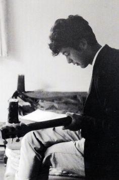 """ Jimmy Page, 1958. """