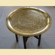 Had a moroccan tray table ...why did i sell it?