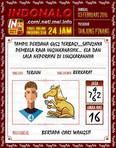 Prediksi Togel Online Indonalo Tanjung Pinang 3 Febuari 2016