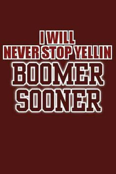 #OU #Sooners #BoomerSooner Oklahoma University Football, Ohio State Football, Oklahoma City, College Football, University Tennessee, American Football, State University, Ou Sports, Sooner Sports