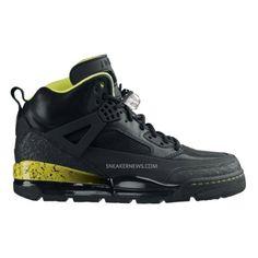 Air Jordan Spizike Black Yellow 375356-071 $56.00