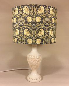 'Morris-ey' vintage lamp