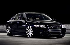 Visit The MACHINE Shop Café... ❤ Best of Audi @ MACHINE... ❤ (Gloss Jet Black Audi A4 Sedan)