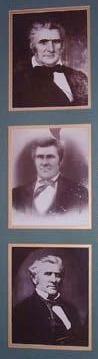 Original portraits of Congressman Alfred Dockery still hang in the Alfred Dockery House in Rockingham NC, Richmond County.