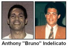 """Anthony """"Bruno"""" Indelicato (born 1956), also known as """"Bruno""""[1] and """"Whack-Whack"""",[2][3] is a capo with the Bonanno crime family of New York City. He is currently serving a 20-year sentence in Fort Dix, New Jersey."""