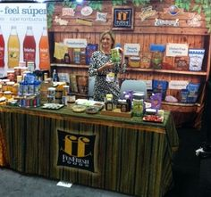 Our FunFresh Foods booth at the San Francisco Fancy Food Show 2014.  A great success!!