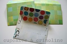 DiY Envelopes made with Cricut from Cupcakes and Crinoline