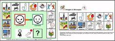 """MATERIALES - """"Communiquer ses envies par pictogrammes quand on est contrarié"""".  Tableau de communication destiné aux enfants (Troubles Envahissants du Développement, Autisme...) afin qu'ils puissent manifester leurs envies quand ils sont contrariés, pour éviter les crises de colère et réguler les comportements.   http://www.catedu.es/arasaac/materiales.php?id_material=768"""