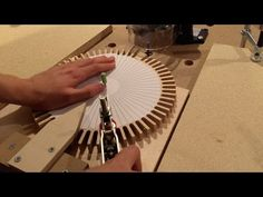 Making Wooden Gears with a Router - YouTube