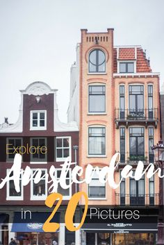 Amsterdam combines everything. It´s diverse, colourful, open-minded, touristy and quirky; it offers great food and fatty food; it´s historic and cultural.