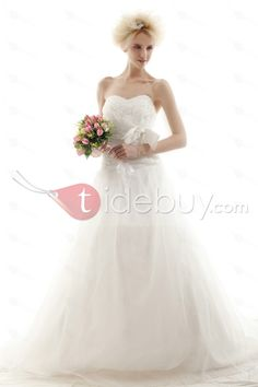 Amazing Ball Gown Sweetheart Chapel Nastye's Wedding Dress for Brides : Tidebuy.com     Beach wedding