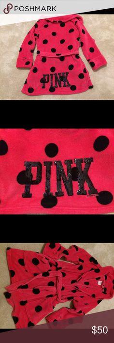 Pink❤️Victoria Secret Robe Women's robe PINK Victoria's Secret Intimates & Sleepwear Robes