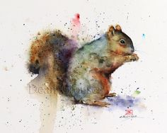 Hey, I found this really awesome Etsy listing at https://www.etsy.com/listing/253561170/squirrel-watercolor-print-squirrel-art