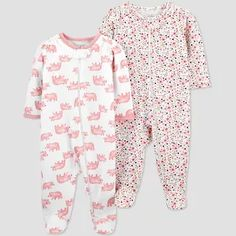Baby Girl Pajamas, Carters Baby Girl, Baby Girl Newborn, Baby Girls, Carters Just One You, Girl Sleeping, One Piece Pajamas, Kids Outfits, Baby Outfits