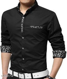 Checkout this latest Shirts Product Name: *New Attractive Men's Shirt* Fabric: Cotton Sleeve Length: Long Sleeves Pattern: Solid Multipack: 1 Sizes: M (Chest Size: 38 in, Length Size: 27 in)  L (Chest Size: 40 in, Length Size: 28 in)  XL (Chest Size: 42 in, Length Size: 29 in)  Country of Origin: India Easy Returns Available In Case Of Any Issue   Catalog Rating: ★4 (3097)  Catalog Name: New Attractive Men's Shirt CatalogID_1100266 C70-SC1206 Code: 544-6891714-3411